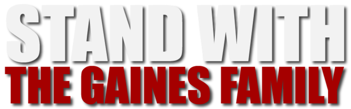 stand with the gaines